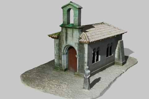 Modelo 3D Iglesia
